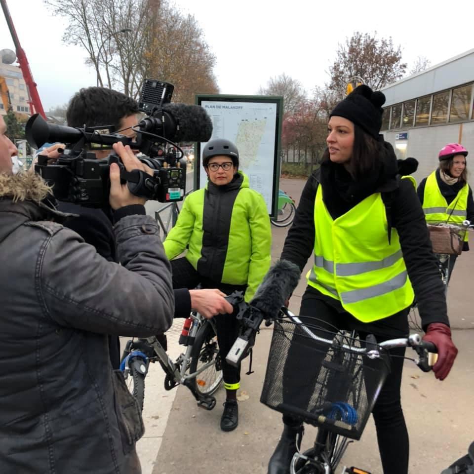 Fontenay-aux-Roses, élections, municipales, 2020, vélo, candidat, Gilles Mergy, EELV, un temps d'avance, Léa-Iris Poggi