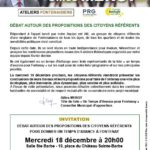 Fontenay-aux-Roses, municiopales, élections, Gilles Mergy, un temps d'avance, candidat, maire, élection, atelier, citoyens