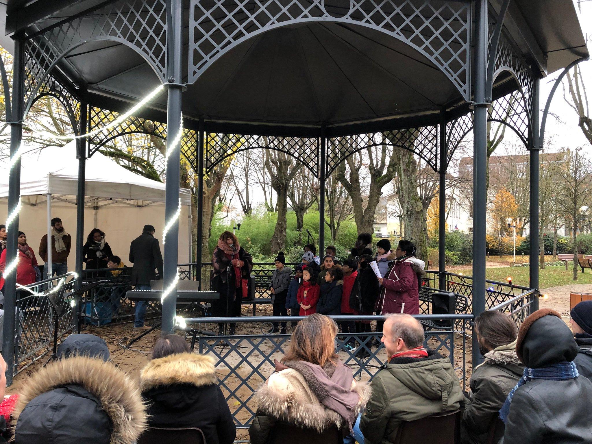 Fontenay-aux-Roses, chorale, enfants, chants, Noël, ville, 92