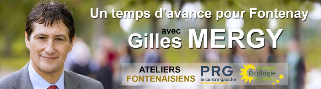 Fontenay-aux-Roses, commune, 92, municipales, élections, Gilles Mergy, maire, candidat, Un temps d'avance, liste, EELV, PRG, ateliers