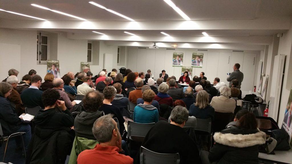 Gilles Mergy, Fontenay-aux-Roses, municipales, élections, liste, Un temps d'avance, EELV